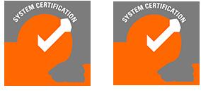 Logotipos de certificación ISO - Inbautek