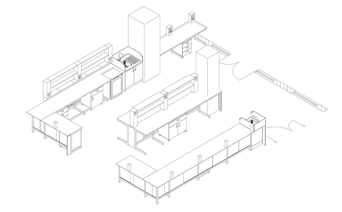 Plano del proyecto Arrixaca - Inbautek
