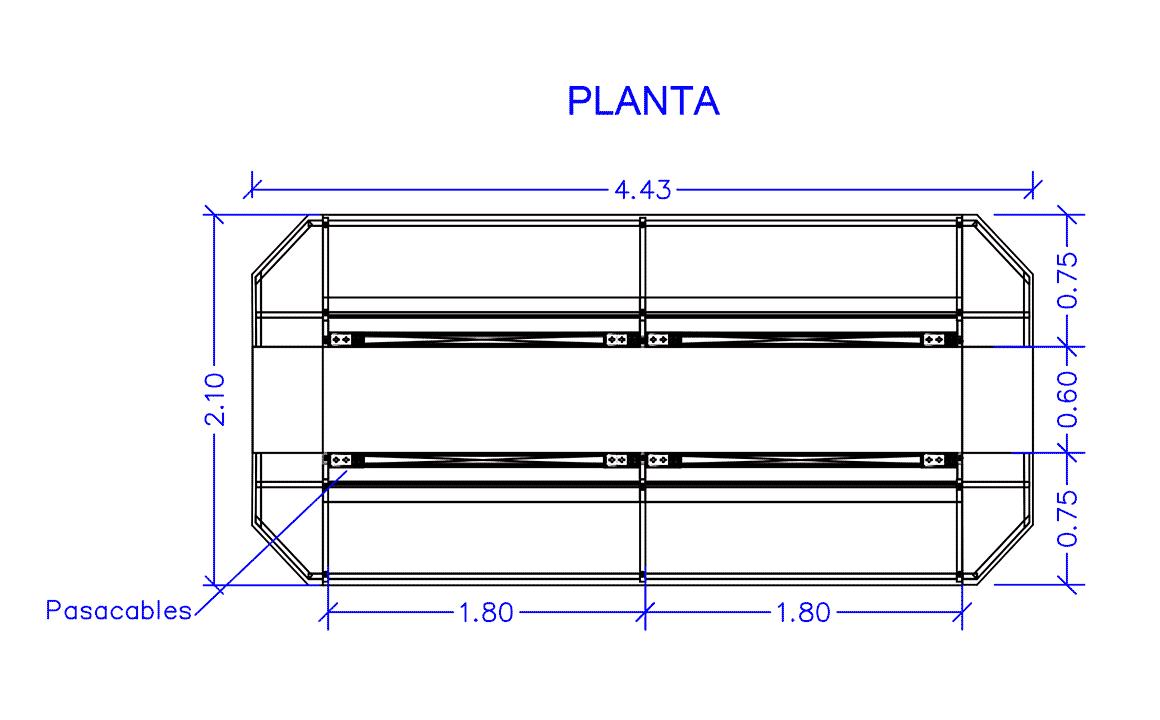 Plano del proyecto Ecosur - Inbautek