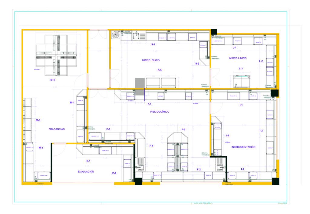 Plano general del proyecto L&D Clientes Inbautek