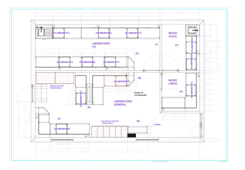 Plano general del Proyecto Naturomatic de Inbautek